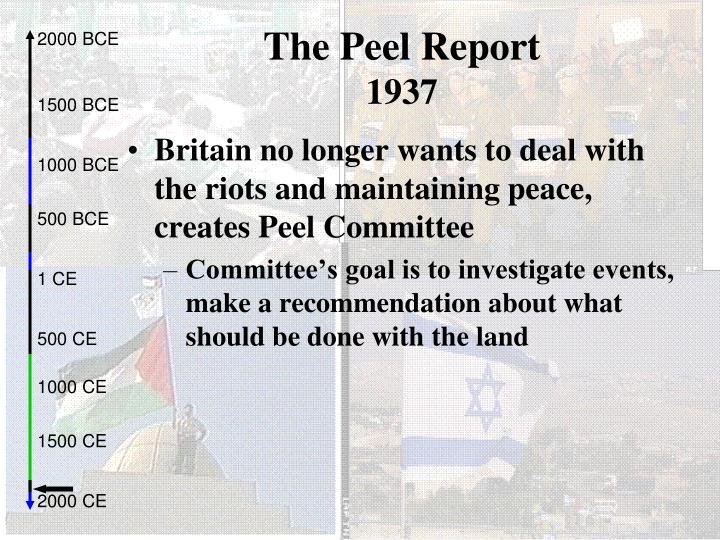 The Peel Report