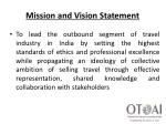 mission and vision statement1