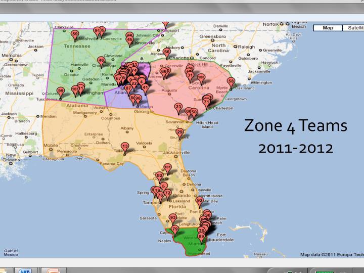 Zone 4 Teams