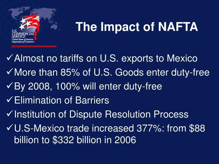 The Impact of NAFTA