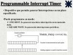 programmable interrupt timer