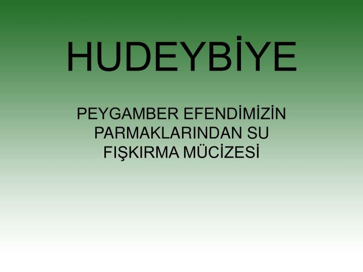 HUDEYBİYE