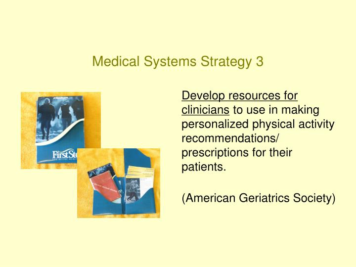 Medical Systems Strategy 3
