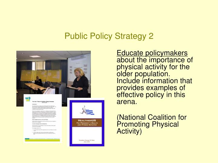 Public Policy Strategy 2