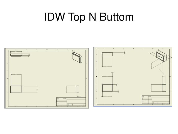 IDW Top N Buttom