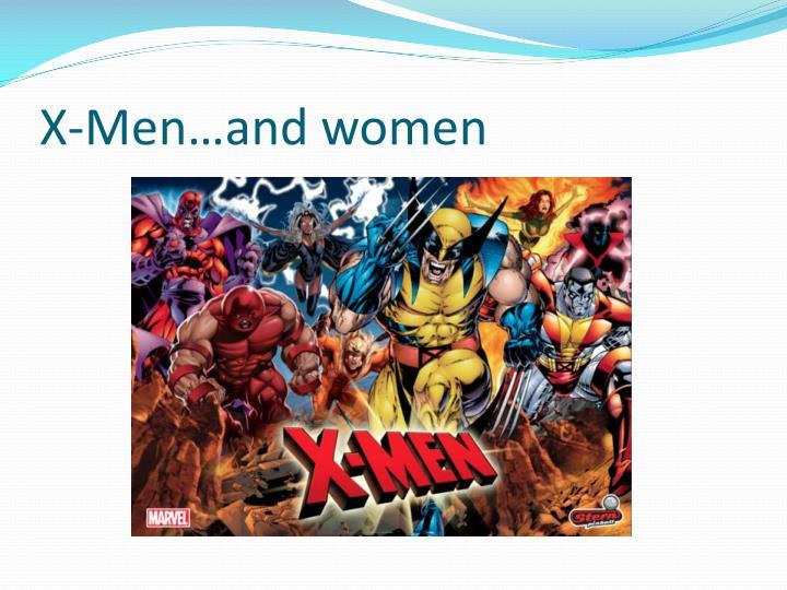 X men and women