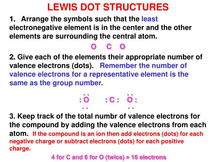 lewis dot structures - powerpoint ppt presentation