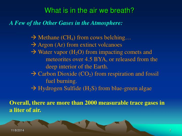 Ppt Phys 575 Csi 655 Introduction To Atmospheric Physics