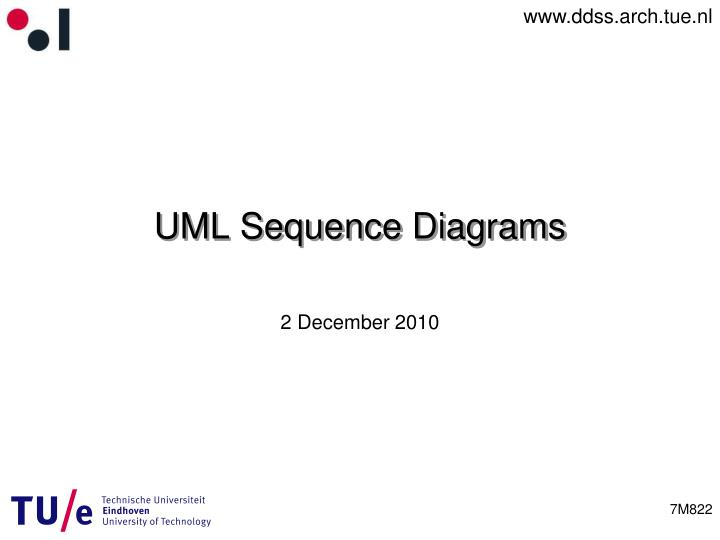 ppt - uml sequence diagrams powerpoint presentation