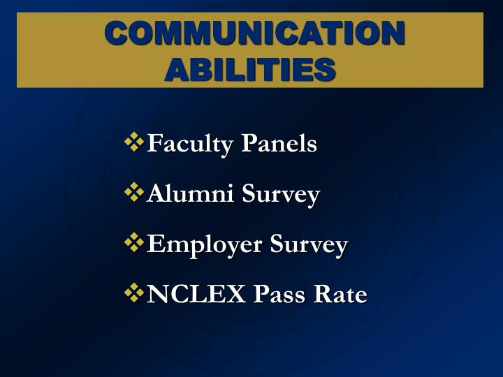 Faculty Panels