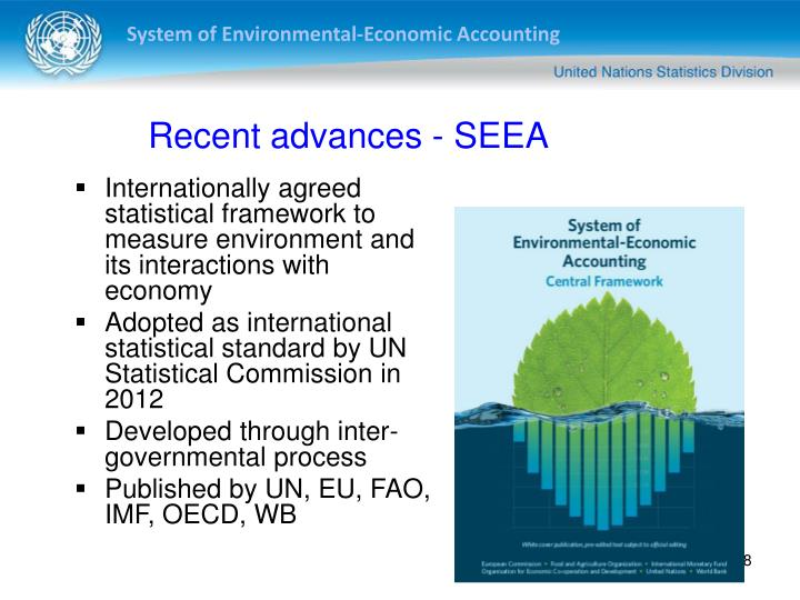 Recent advances - SEEA
