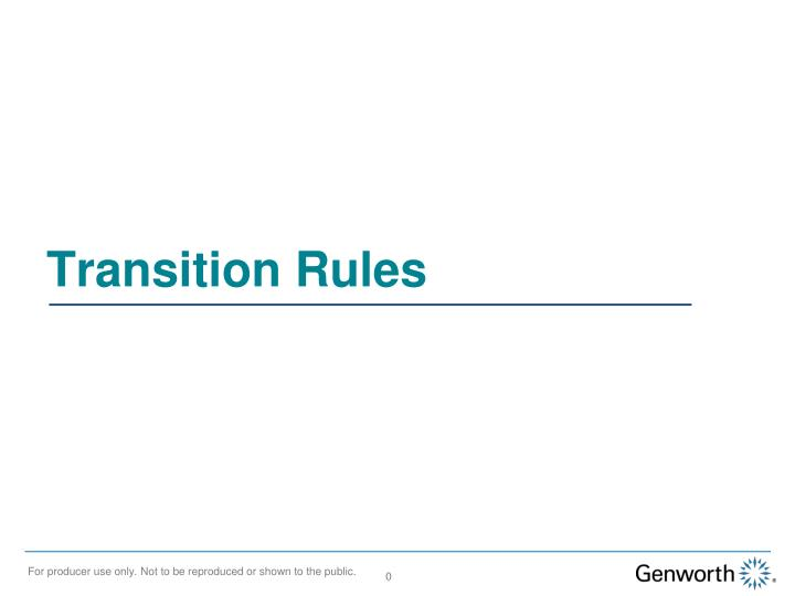 transition rules n.