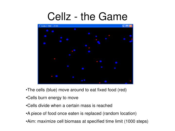 Cellz the game