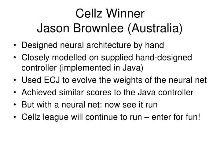 Cellz Winner