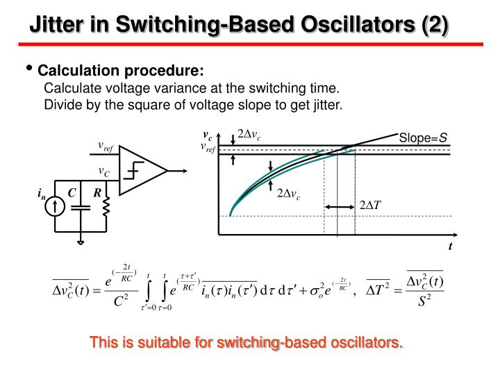 Jitter in Switching-Based Oscillators (2)