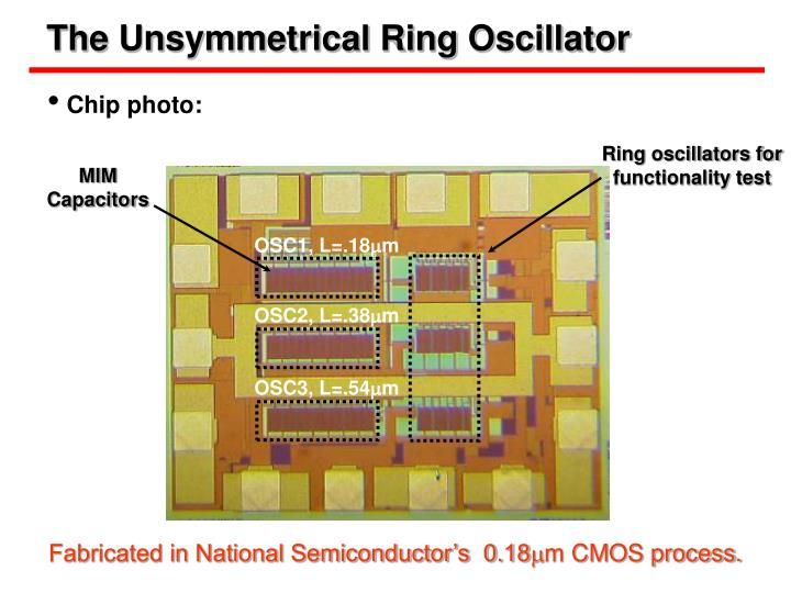 The Unsymmetrical Ring Oscillator