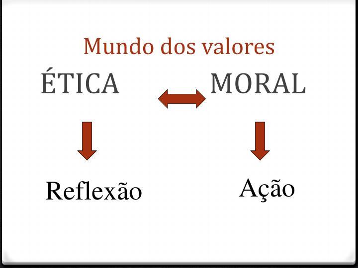 Mundo dos valores