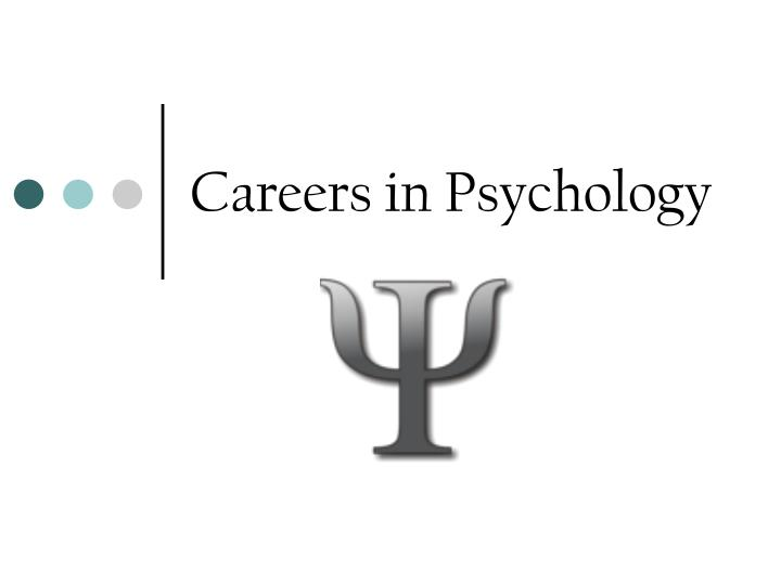 careers in psychology n.