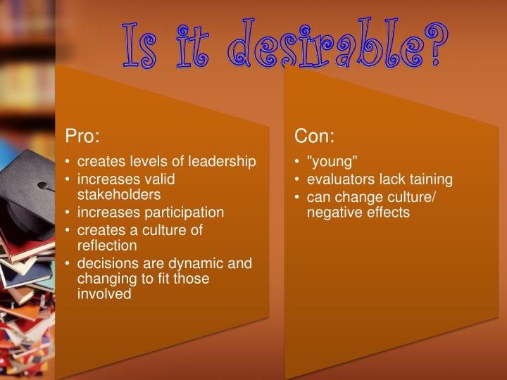 Is it desirable?