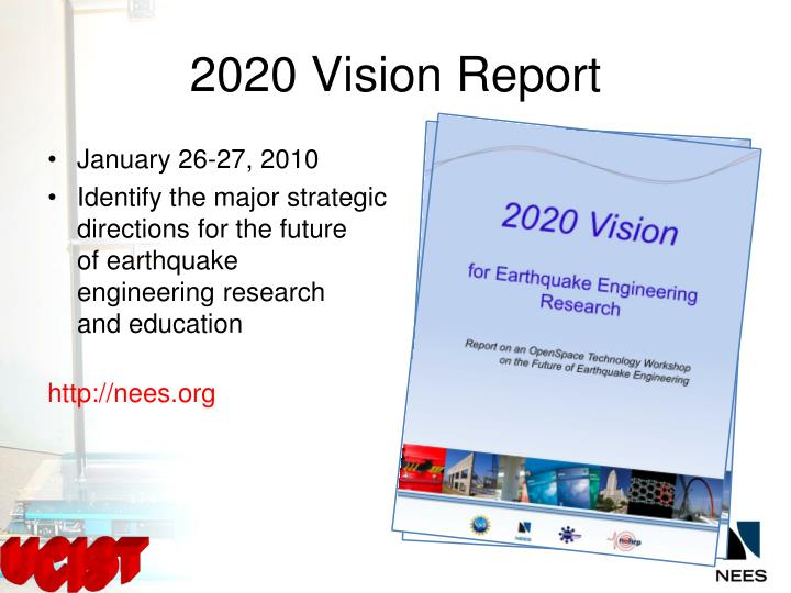 2020 Vision Report