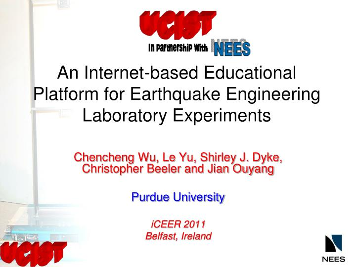 An internet based educational platform for earthquake engineering laboratory experiments