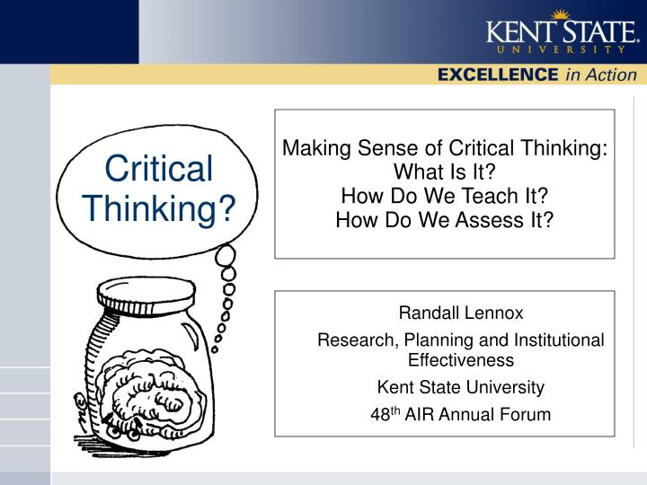 1 06 review and critical thinking Critical thinking means making reasoned judgments that are logical and well-thought out it is a way of thinking in which you don't simply accept all arguments and conclusions you are exposed to.