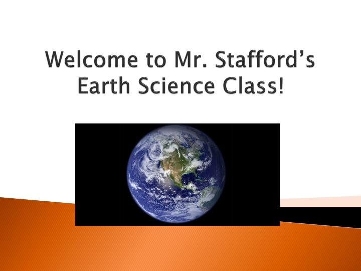 welcome to mr stafford s earth science class n.