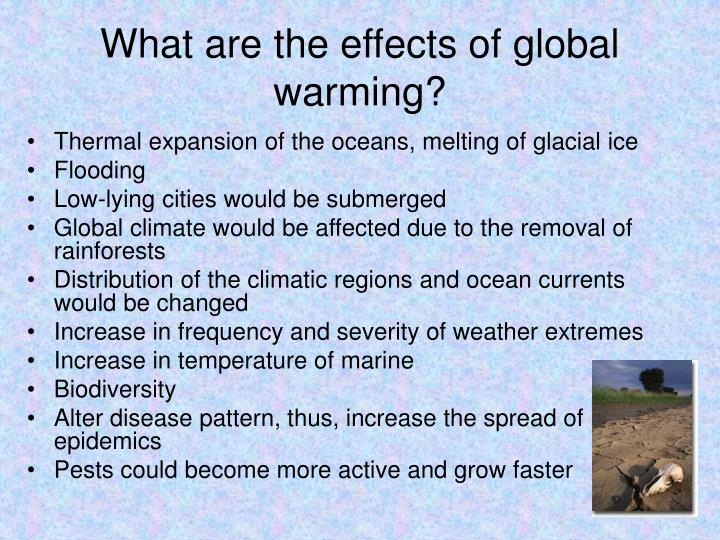 global warming introduction causes and effects