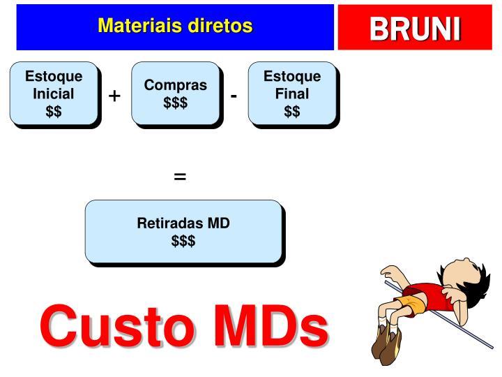 Materiais diretos