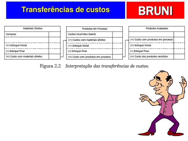 Transferências de custos