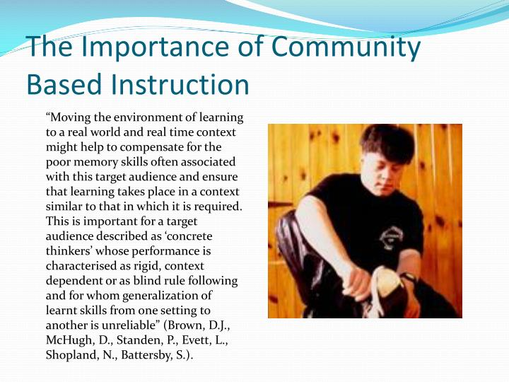 Ppt Addressing The Needs Of Students With Intellectual Disability