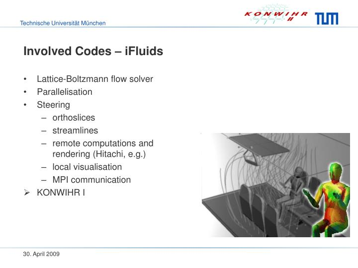 Involved Codes – iFluids