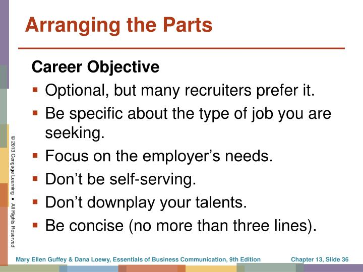 Optional, but many recruiters prefer it.