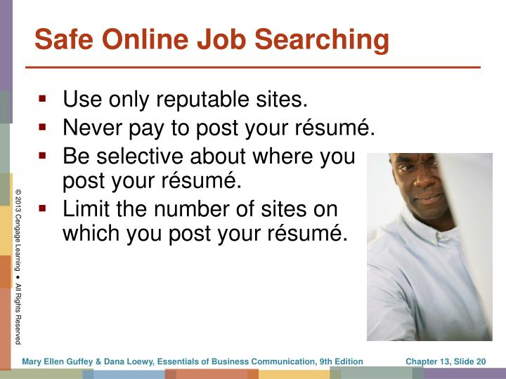 Use only reputable sites.