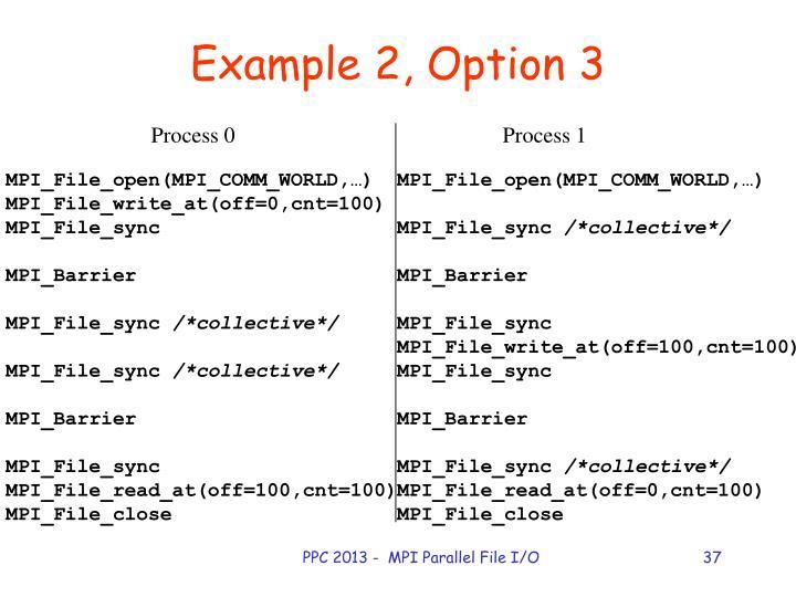 PPC 2013 -  MPI Parallel File I/O