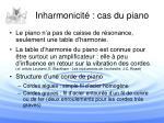 inharmonicit cas du piano