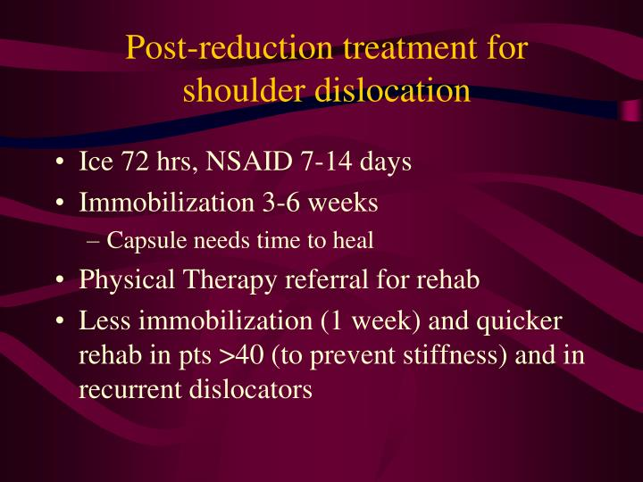 Post-reduction treatment for