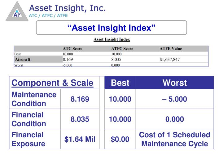 """Asset Insight Index"""