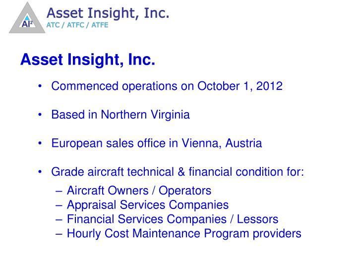 Asset Insight, Inc.