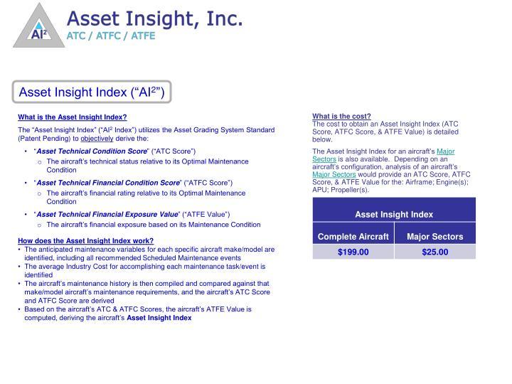 "Asset Insight Index (""AI"