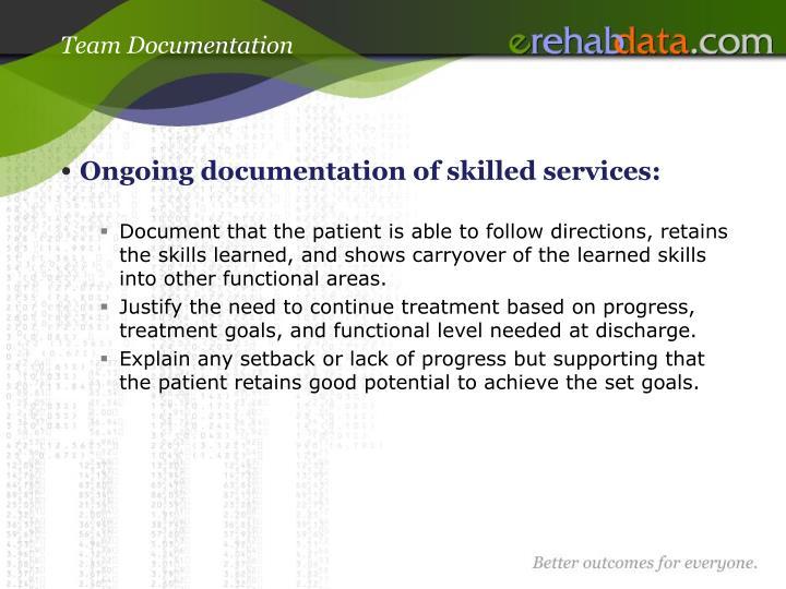 Team Documentation