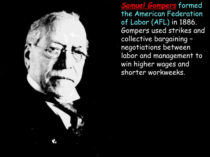 Samuel Gompers