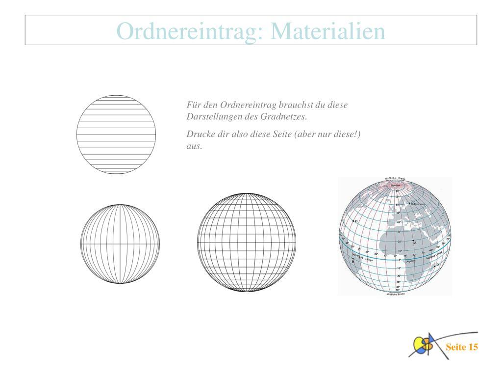 PPT   das Gradnetz der Erde PowerPoint Presentation, free download ...