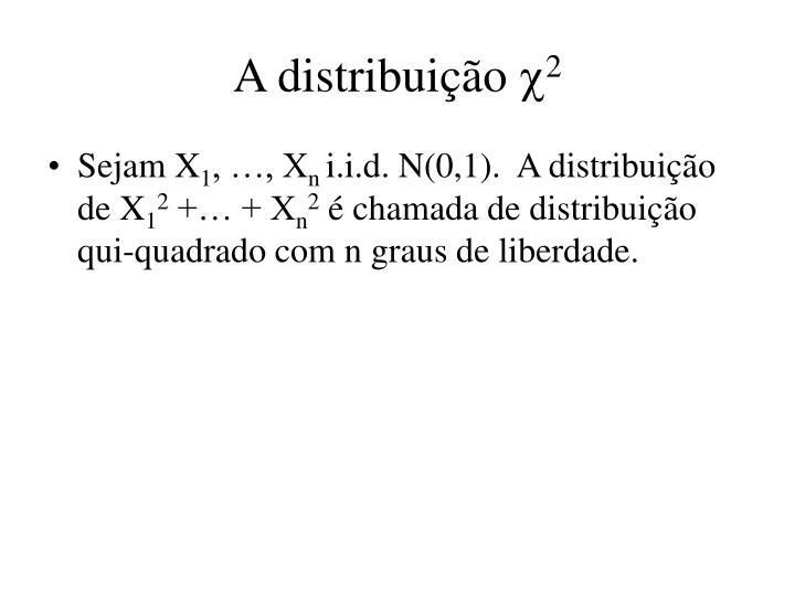 A distribuição