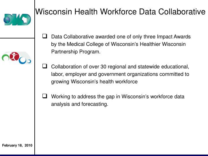 Wisconsin Health Workforce Data Collaborative