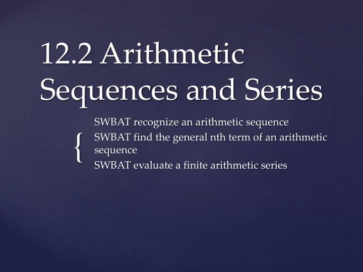 12 2 arithmetic sequences and series n.