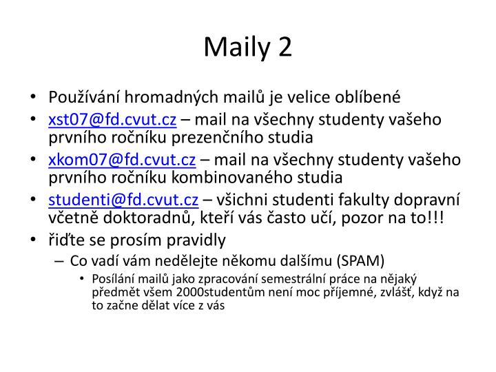 Maily 2