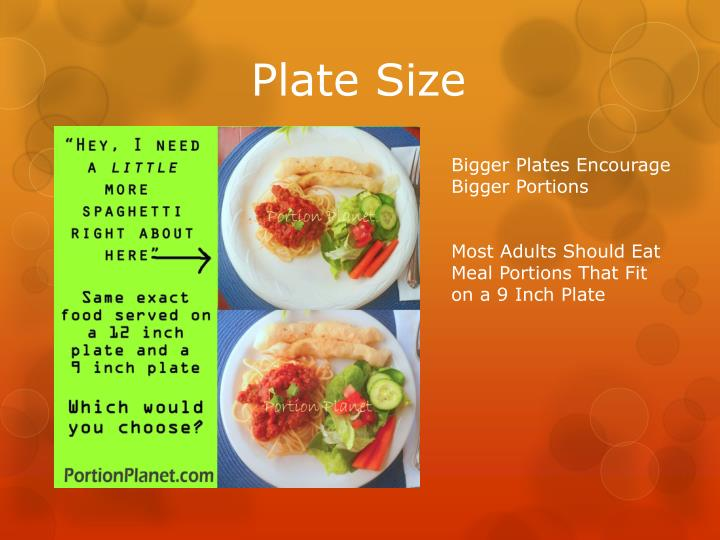 Plate Size