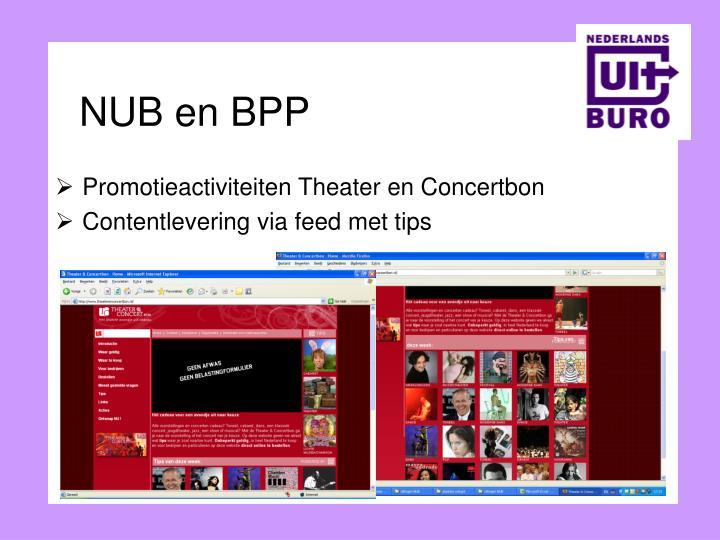 NUB en BPP