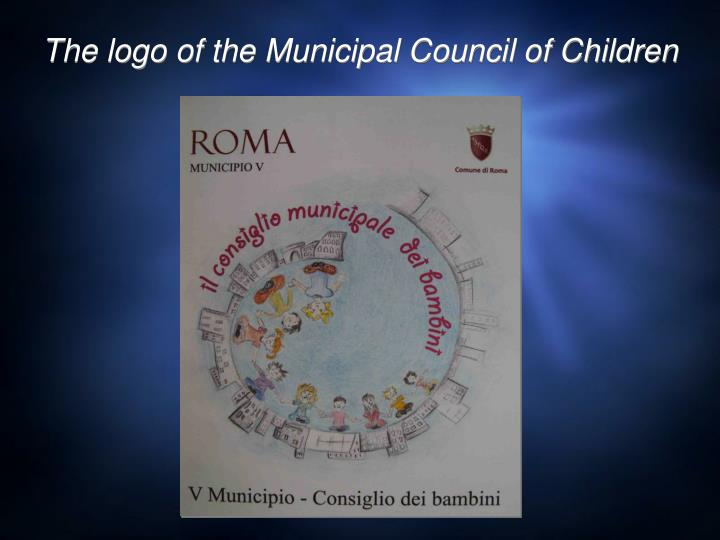 The logo of the municipal council of children